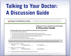 Talking to Your Doctor About Type 2 Diabetes: A Discussion Guide