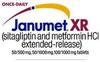 Once-Daily JANUMET® XR (sitagliptin and metformin HCl extended-release)
