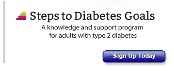 Steps to Diabetes Goals: A knowledge and support program for adults with type 2 diabetes
